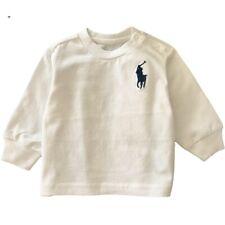 Ralph Lauren Polo bebé Chicos Camiseta Mangas Largas Top 3-24m Genuine Factory Outlet