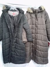 EXCELLED WOMEN'S HOODED LONG PUFFER JACKET NWT