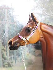 EJ41 -LSQ Egyptian Style Arab Halter for Peter Stone, similar size Model  Horse