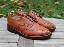 Tricker's 'Keswick' Tan Brown Country Brogues Leather Men's Shoes UK 6