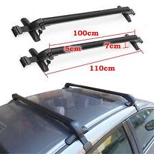 110-115cm Universal Car Anti Theft Roof Bar Without Rail Lockable Rack Box