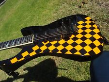 1980's Jackson Custom Shop USA SL1 Soloist Neck Thru Checkerboard Floyd Rose
