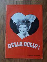 1960s Hippodrome Bristol Theatre programme Dora Bryan in Hello Dolly
