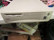 Vintage Compaq Deskpro Desktop PC Computer DP4000S Pentium