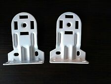 1-Pair Bali & Springs Window Fashions RollEase Roller Shade Brackets White