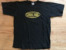 Vintage Sublime 90s Concert Early All Sport Brand Skunk Shirt Adult Xl