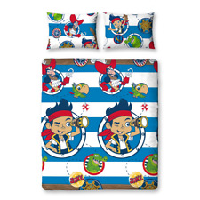 Jake The Neverland Pirates Doubloons Double Bed Duvet Cover set