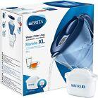 BRITA Marella XL MAXTRA+ Plus 3.5L Blue Water Filter Table Jug 1 Cartridge