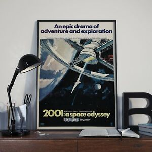 Stanley Kubricks 2001 : A Space Odyssey Movie Film Poster Print Picture A3 A4