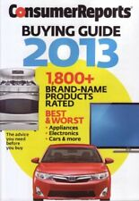 B00A9MEB6I Consumer Reports Buying Guide 2013