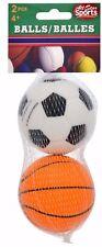 All Star Sports Foam Rubber SOCCERBALL BASKETBALL Balls SQUISHY