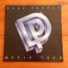 Deep Purple - Perfect Strangers  Tour Programme
