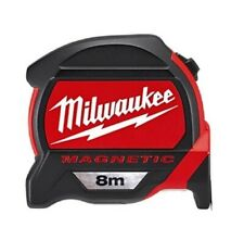 Milwaukee 48-22-7308 Tape Measure Magnetic 8M Rulers Tapes Layout Tools_NK