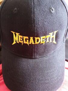 megadeth super collider world tour cap 2013 New Size 57cm