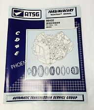 CD4E ransmission ATSG Technical Service and Repair Manual for Ford