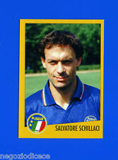 AZZURRI CON IP ITALIA - Merlin - Figurina-Sticker n. 47 - S.SCHILLACI -New