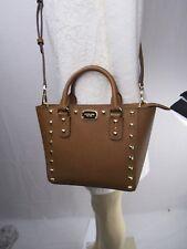 Michael Kors Sandrine tachuela mini Top cremallera bolsa / cruzado en equipaje