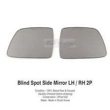 Rearview Blind Spot Curved Side Mirror Glass For HYUNDAI 2007-16 iMax H1 Starex