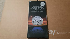 Anthrax Persistence of Time Brand New Factory Sealed Longbox CD 1994 Long Box