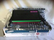 Samsung Genuine CLP-M660B/SEE M660 MAGENTA Toner Cartridge CLP-610/660 CLX-62xx