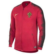 Men's Nike 2018/19 Portugal Anthem Jacket 893593-687 Red/Black