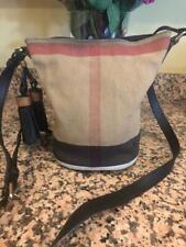 Burberry Small Ashby Canvas Crossbody - Black PURSE BAG (700