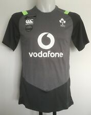 IRELAND RUGBY SUPERLIGHT TRAINING TEE ASPHALT BY CANTERBURY SIZE MEN'S SMALL