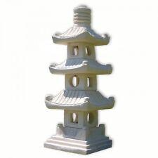 Lanterna pagoda giapponese 3 livelli, decorazione importata di thaïlande (10511)