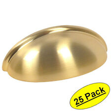 *25 Pack* Cosmas Cabinet Hardware Brushed Brass Bin Cup Handle Pulls #783BB