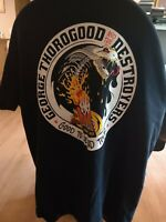 Mens George Thorogood and the Destroyers Shirt L GOOD TO BE BAD TOUR 45 Years