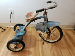 Vintage 'Space Age' Step-up Tricycle