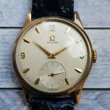 Omega 9ct Solid Gold Men's Watch Cal 266