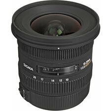 SIGMA 10-20mm f/3.5 EX DC WIDE ANGLE Lens CANON + 4 YEAR WARRANTY T5i T7i T6i XS