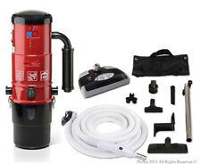 Prolux Cv12000 Central Vacuum Unit System with Electric Hose Power Nozzle Kit an