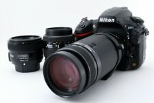Nikon D810 36.3MP 35-80/75-300/50mm Lens Set [Exc++] w/Box,8GB SD Card [712]
