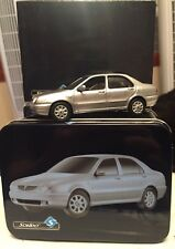 LANCIA LYBRA 1999 Metallic Silver 1:43 Scale Model From Solido in Collectors Tin