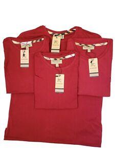 Mens t shirt, Brand new, Large, Red. Premium quality.