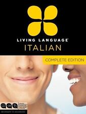 Living Language Italian Complete Edition Boxed(3 books 9 CDs)