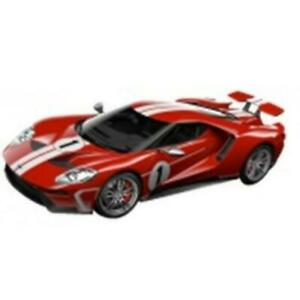 Bburago Model Ford GT 2018 Heritage Collection Red