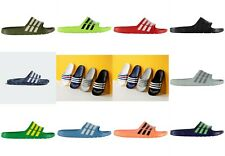 cc50b3764d1bc4 NEW Adidas Mens Duramo Sliders Flip Flops SIZES FROM 3-18 -- MULTI COLORS