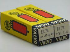 2x ea76 = 6489 = cv469 Valvo tubi/tubes/NOS/NIB/NEW