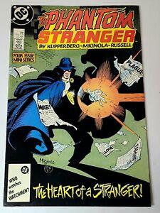 DC Comics THE PHANTOM STRANGER #1 (Oct 1987) Heart of Stranger Boarded & Bagged