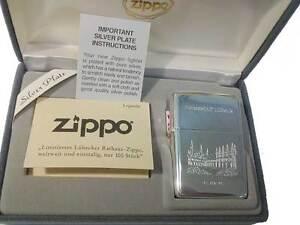 Zippo® Hansestadt Lübeck Rathaus - Limited Edition - Silver Plate Neu/New OVP