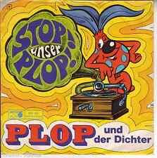 """PLOP und die PLOP-Singers- Stop! unser Plop! -Hörspiel Melodie> 7"""" Vinyl Single"""