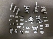 Warhammer 40k Ork Meganobz Shoulder Pads / Accessories Bits