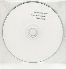 (ET769) Boy Of The Afterthought, Dead Cold Quiet - 2011 DJ CD
