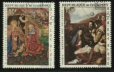 Dahomey Scott #C46-47, Singles 1966 FVF Used