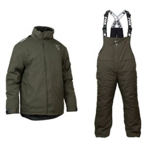 Fox Green & Silver Winter Suit Combo Bib & Brace and Jacket ALL SIZES