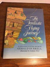 The Fantastic Flying Journey, Gerald Durrell, HC+DJ, very good condition, illust