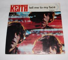 Keith -Tell Me To My Face / Pretty Little Shy One on Mercury #72652